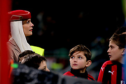 January 26, 2019 - Milan, Milan, Italy - A hostess of AC Milan before to the serie A match between AC Milan and SSC Napoli at Stadio Giuseppe Meazza on January 26, 2018 in Milan, Italy. (Credit Image: © Giuseppe Cottini/NurPhoto via ZUMA Press)
