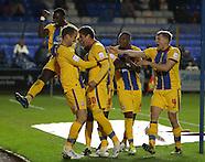 Peterborough United v Crystal Palace 101112
