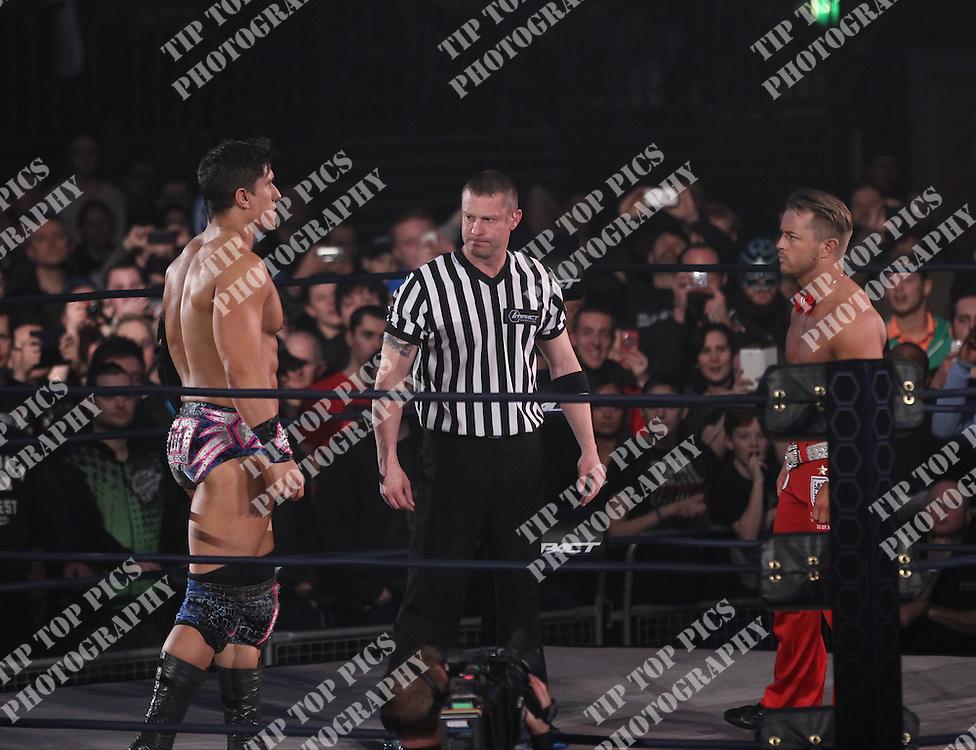 TNA WRESTLING, IMPACT WRESTLING, WEMBLEY LONDON, TNA, WRESLING, PIC:CHRIS SARGEANT