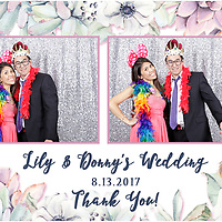 Donny & Lily Wedding Photo Booth