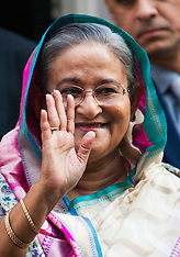2014-07-22 Bangladesh PM Sheikh Hasina at Downing Street