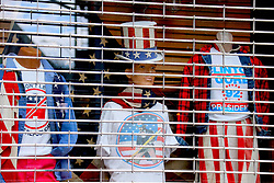 Vintage store closed in Soho during the Covid-19 pandemic in New York City, NY, USA on April 22, 2020. The Big Apple neared a painful milestone Wednesday as the death toll from the coronavirus outbreak that has ravaged the five boroughs approached 15,000. The pandemic has claimed the lives of 14,996 New Yorkers, with new 569 fatalities reported in the most recent 24-hour period, according to data from the city's Department of Health. Photo by Charles Guerin/ABACAPRESS.COM