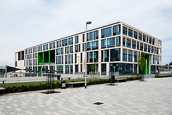 View of new Boroughmuir High School recently opened in Edinburgh, Scotland, UK, United Kingdom