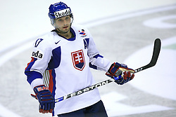 Lubomir Visnovsky of Slovakia at ice-hockey game Slovenia vs Slovakia at Relegation  Round (group G) of IIHF WC 2008 in Halifax, on May 09, 2008 in Metro Center, Halifax, Nova Scotia, Canada. Slovakia won 5:1. (Photo by Vid Ponikvar / Sportal Images)