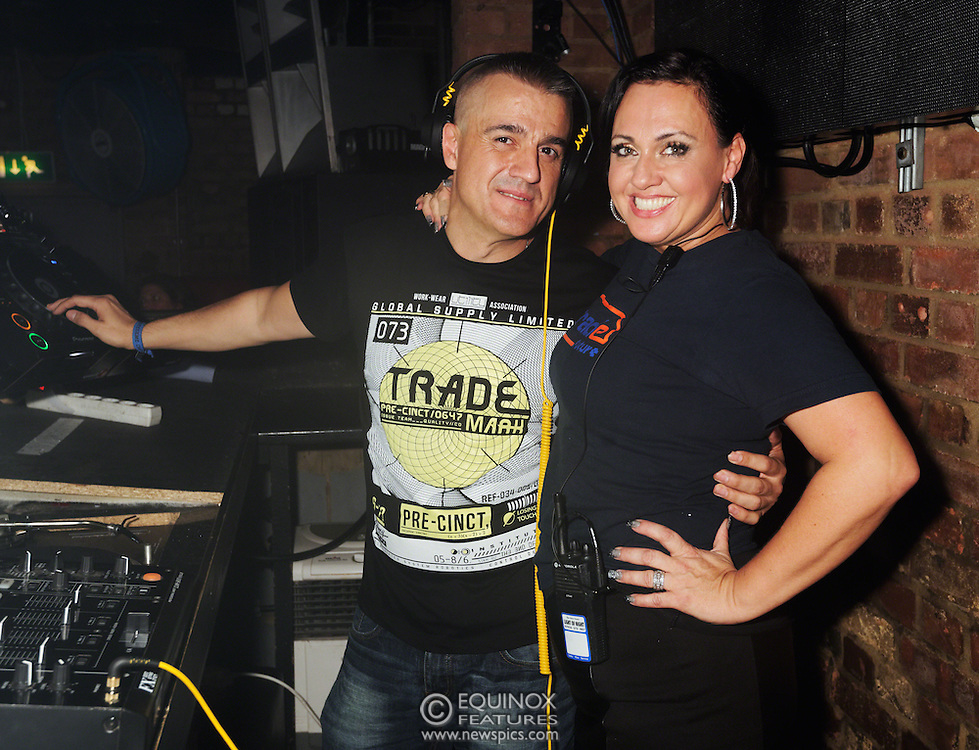 London, United Kingdom - 2 November 2013<br /> DJ Gonzalo Rivas DJing at the 23rd birthday party for Trade gay club night at Egg nightclub, York Way, King's Cross, London, England, UK.<br /> Contact: Equinox News Pictures Ltd. +448700780000 - Copyright: &copy;2013 Equinox Licensing Ltd. - www.newspics.com<br /> Date Taken: 20131102 - Time Taken: 232554+0000