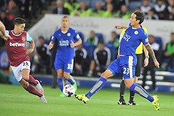 Leonardo Ulloa Leicester City, Leicester City v West Ham Utd, Carling Cup Round 3, King Power Stadium, Tuesday 22nd September 2015.
