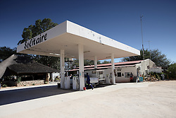 NAMIBIA SOLITAIRE 22APR14 - Solitaire petrol station near  the Naukluft National Park, Namibia.<br /> <br /> It currently features the only gasoline station, post office, bakery, and the only general dealer between the dunes at Sossusvlei and the coast at Walvis Bay, as well as to the capital Windhoek.<br /> <br /> jre/Photo by Jiri Rezac<br /> <br /> © Jiri Rezac 2014