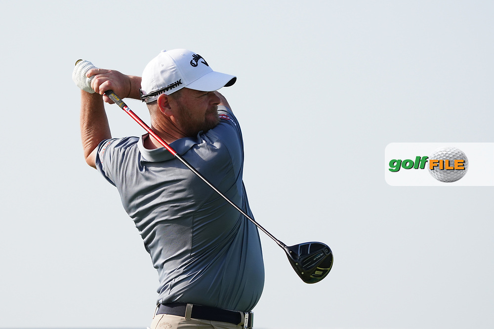 David Drysdale (SCO) on the 9th during Round 2 of the Oman Open 2020 at the Al Mouj Golf Club, Muscat, Oman . 28/02/2020<br /> Picture: Golffile | Thos Caffrey<br /> <br /> <br /> All photo usage must carry mandatory copyright credit (© Golffile | Thos Caffrey)