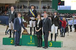 Delaveau, Patrice;<br /> Farrington, Kent;<br /> Kessler, Reed, <br /> Genf - Rolex Grand Slam 2013<br /> Rolex Top 10 Finale<br /> © www.sportfotos-lafrentz.de / Stefan Lafrentz