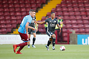 Your Tielemans of Leicester City during the Pre-Season Friendly match between Scunthorpe United and Leicester City at Glanford Park, Scunthorpe, England on 16 July 2019.
