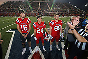 West Monroe Rebels beat the Alexandria Sr. High Trojans 55-20 at Don Shows Field at Rebel Stadium in West Monroe.