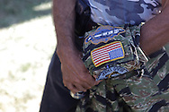Vietnam War patches. 1/9th Cavalry. Vietnam Veterans gather in Kokomo, Indiana for the 2009 reunion.