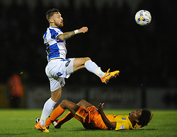 Matt Taylor of Bristol Rovers chases down the loose ball - Mandatory byline: Dougie Allward/JMP - 07966 386802 - 06/10/2015 - FOOTBALL - Memorial Stadium - Bristol, England - Bristol Rovers v Wycombe Wanderers - JPT Trophy