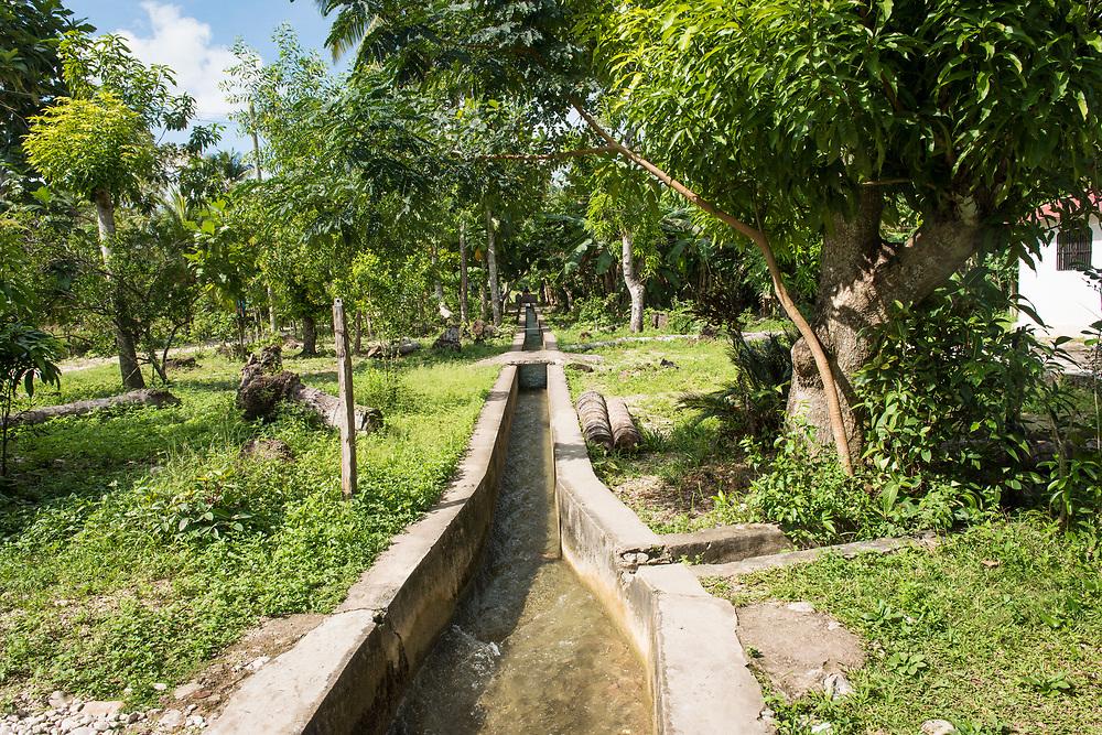 Haïti, Département du Sud, commune de Maniche. À la suite du passage de l'ouragan Matthew en octobre 2016, des milliers d'agriculteurs et d'agricultrices ont bénéficié de la distribution de plusieurs variétés de semences, afin de permettre la reprise de l'activité agricole dans cette région considérée comme le grenier d'Haïti.