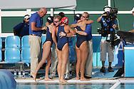 Waterpolo AUS - USA  (5:6) Bronze Medal Match, Women....Jubel USA....Photo by PATRICK B. KRAEMER (Photo by Patrick B. Kraemer / MAGICPBK)
