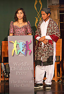 The World&rsquo;s Children&rsquo;s Prize Ceremony 2015 at Gripsholms Castle in Mariefred, Sweden. Mae Segovia from The Philippines and Kewal Ram from Pakistan are members of the Child Jury.Photo: Sofia Marcetic/World's Children's Prize<br /> <br /> Since the year 2000, the World&rsquo;s Children&rsquo;s Prize program has educated and empowered over 38 million children. It&rsquo;s the world&rsquo;s largest annual educational initiative for equality, the rights of the child and democracy. The program is run annually in schools worldwide. Each year, three out&not;standing child rights heroes are selected by the Child Jury as candidates for the World&rsquo;s Children&rsquo;s Prize for the Rights of the Child.  The three candidates are then presented to the world&rsquo;s children through  the WCP magazine The Globe, video, web and social media. Tens of thousands of volunteers and organisations help to implement the WCP program every year, including at least 50,000 teachers and over a hundred organisations, social enterprises and departments of education. Over 67,000 schools in 113 countries have signed up for the WCP.<br />     The WCP program concludes with an annual Global Vote in which millions of children vote to elect their child rights hero of the Year. The majority of children who participate are vulnerable, such as former child soldiers and child slaves. Three global legends have got behind the WCP as patrons: Nelson Mandela, Aung San Suu Kyi, and Xanana Gusm&atilde;o. Other patrons include H.M. Queen Silvia of Sweden, Gra&ccedil;a Machel and Desmond Tutu.<br />    The WCP program was founded in the year 2000 and is run by Swedish non-profit the World&rsquo;s Children&rsquo;s Prize Foundation (WCPF). The WCPF receives funding from several bodies including the Swedish Postcode Lottery, Sida (the Swedish International Development Cooperation Agency), H.M. Queen Silvia&rsquo;s Care About the Children Foundation, the Surv&eacute; Family Foundation, Giving Wings, Futura Foundations and eWork. The WCPF received the highest possible rating in the annual review