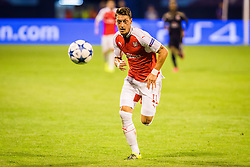 Mesut Ozil #11 of Arsenal F.C. during football match between GNK Dinamo Zagreb, CRO and Arsenal FC, ENG in Group F of Group Stage of UEFA Champions League 2015/16, on September 16, 2015 in Stadium Maksimir, Zagreb, Croatia. Photo by Ziga Zupan / Sportida