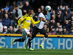 Daren Bent Derby County, Derby County v Brentford, Sy Bet Championship, IPro Stadium, Saturday 11th April 2015. Score 1-1,  (Bent 92) (Pritchard 28)<br /> Att 30,050