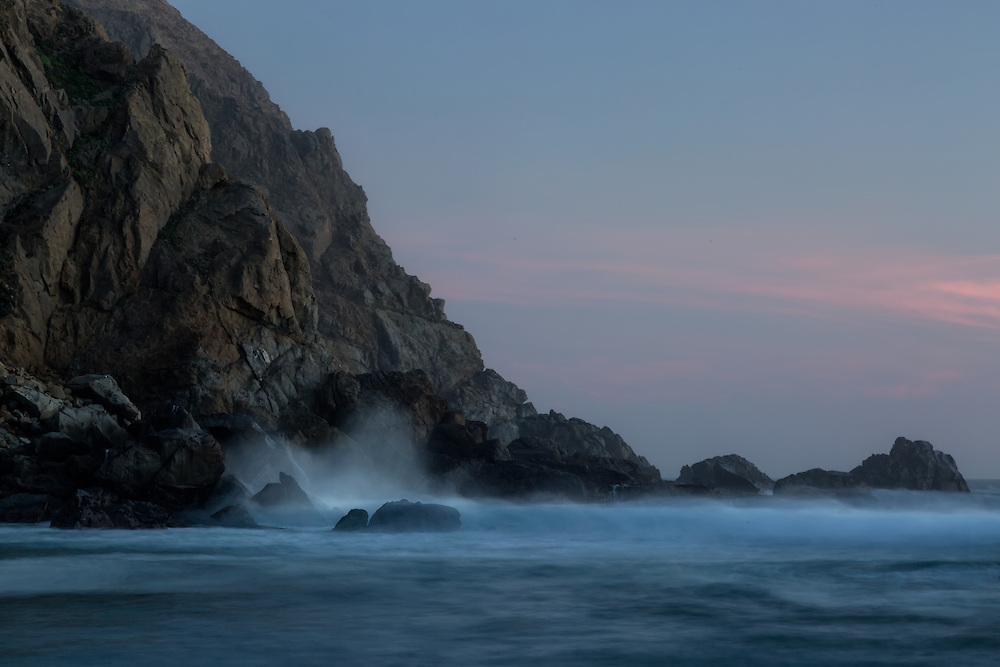 Pfeiffer Beach, Big Sur,  Monterey County, California