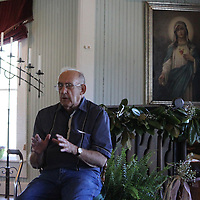 Historian Jim Crosby tells about Aberdeen's founding and some of its notable personalities of long ago during Storytelling at James Creek Missionary Baptist Church.