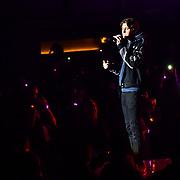 Gunnar Gehi preforms at 2020 WE Day UK at Wembley Arena, London, Uk 4 March 2020.
