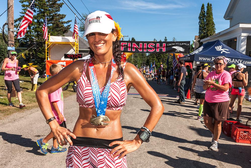 Great Cranberry Island Ultra 50K road race: Juli Goldstein