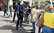 DESCRIZIONE : Ancona raduno nazionale maschile senior - visita centro Ancona<br /> GIOCATORE : stefano gentile<br /> CATEGORIA : nazionale maschile senior<br /> GARA : Ancona raduno nazionale maschile senior - visita centro Ancona<br /> DATA : 12/04/2014<br /> AUTORE : Agenzia Ciamillo-Castoria