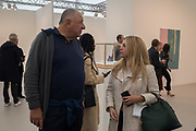 JOHNNY PIGOZZI, ALMA ZEVI, Frieze opening day. Regent's Park. London. 2 October 2019