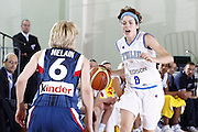 DESCRIZIONE : Valmiera Latvia Lettonia Eurobasket Women 2009 Francia Italia France Italy<br /> GIOCATORE : Simona Ballardini<br /> SQUADRA : Italia Italy<br /> EVENTO : Eurobasket Women 2009 Campionati Europei Donne 2009 <br /> GARA : Francia Italia France Italy<br /> DATA : 07/06/2009 <br /> CATEGORIA : palleggio<br /> SPORT : Pallacanestro <br /> AUTORE : Agenzia Ciamillo-Castoria/E.Castoria