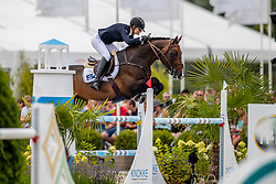 Conter Zoe, BEL, Univers du Vinnebus<br /> Grand Prix Rolex powered by Audi <br /> CSI5* Knokke 2019<br /> © Hippo Foto - Dirk Caremans<br /> Conter Zoe, BEL, Univers du Vinnebus