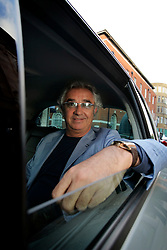 UK ENGLAND LONDON 27SEP05 - Italian Renault F1 Team manager Flavio Briatore poses for photographs inside a Renault Vel Satis. His team and F1 pilot Fernando Alonso has made history as the youngest winner of the FIA Formula One world championship after taking third place in today's Brazilian Grand Prix at Interlagos, São Paulo. ..jre/Photo by Jiri Rezac..© Jiri Rezac 2005.Contact: +44 (0) 7050 110 417.Mobile:  +44 (0) 7801 337 683.Office:  +44 (0) 20 8968 9635..Email:   jiri@jirirezac.com.Web:    www.jirirezac.com..© All images Jiri Rezac 2005 - All rights reserved.