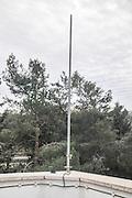 Lightning rod. Jerusalem, Israel