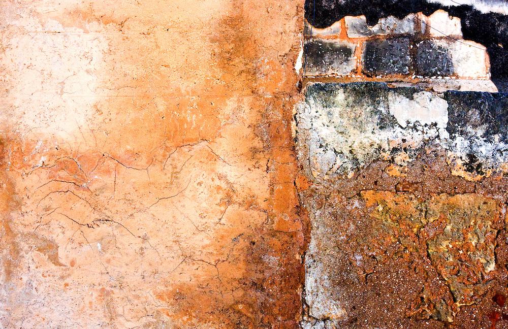 Wall in Cardenas, Matanzas, Cuba.
