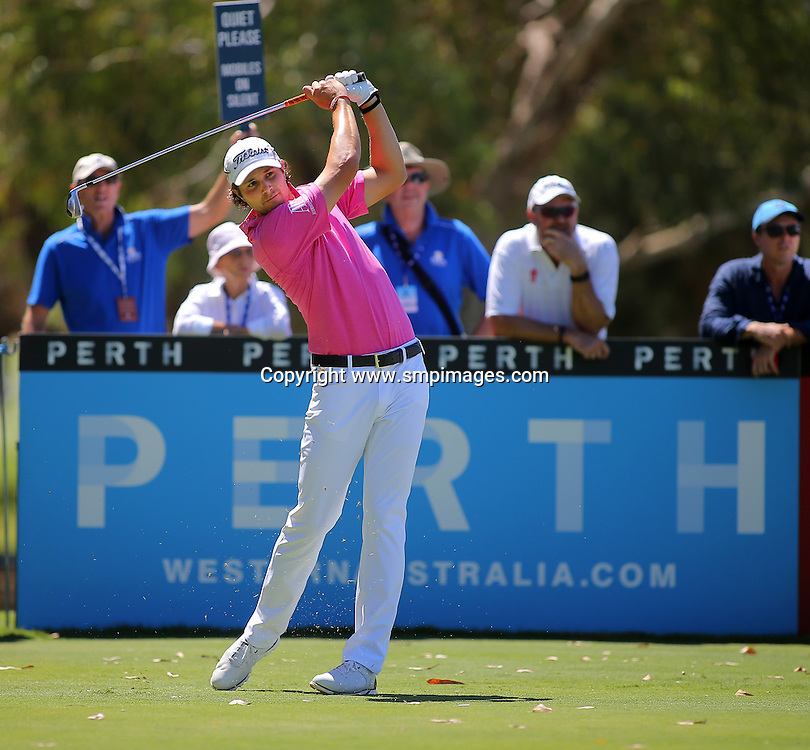 PETER UILEIN- Action from 2016 ISPS Handa Perth International held at Lake Karrinyup Country Club, Perth Western Australia<br /> Photo: Wendy van den Akker SMP Images/ IMG Media/ PGA Media