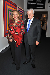 LORD & LADY STEVENS OF LUDGATE at a 2nd private view of the Pavilion of Art & Design London 2011 held in Berkeley Square, London on 11th October 2011.
