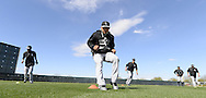 GLENDALE, AZ - FEBRUARY 24:  Carlos Sanchez #5 of the Chicago White Sox participates in base running drills during spring training workouts on February 24, 2015 at The Ballpark at Camelback Ranch in Glendale, Arizona. (Photo by Ron Vesely)   Subject:   Carlos Sanchez