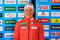 Katja Visnar of Cross Country Skiing team at media day of Ski Association of Slovenia before new winter season 2018/19, on October 4, 2018 in Ski resort Pohorje, Maribor, Slovenia. Photo by Grega Valancic / Sportida