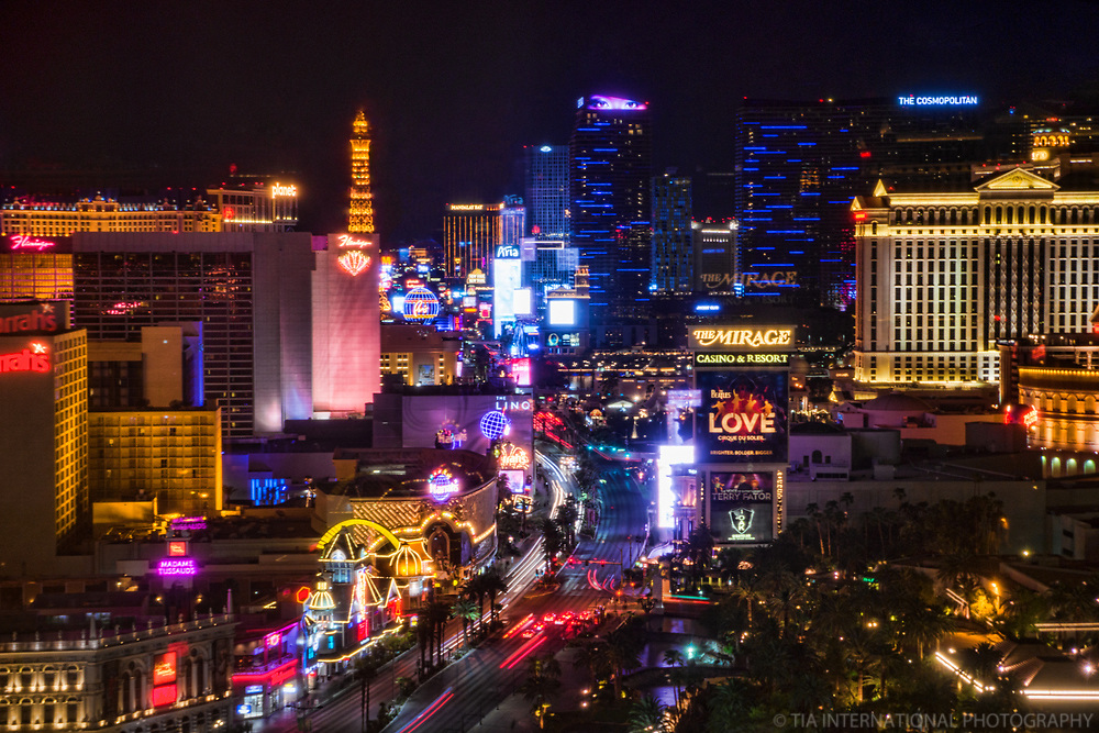 Lights of the Las Vegas Strip