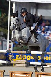 Van Roosbroeck Maurice (BEL) - Dylano<br /> Belgisch Kampioenschap Jumping - Lanaken 2011<br /> © Dirk Caremans