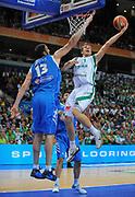DESCRIZIONE : Vilnius Lithuania Lituania Eurobasket Men 2011 Second Round Slovenia Grecia Slovenia Greece<br /> GIOCATORE : Goran Dragic <br /> SQUADRA : Slovenia<br /> EVENTO : Eurobasket Men 2011<br /> GARA : Slovenia Grecia Slovenia Greece<br /> DATA : 08/09/2011 <br /> CATEGORIA : tiro shot<br /> SPORT : Pallacanestro <br /> AUTORE : Agenzia Ciamillo-Castoria/T.Wiendesohler<br /> Galleria : Eurobasket Men 2011 <br /> Fotonotizia : Vilnius Lithuania Lituania Eurobasket Men 2011 Second Round Slovenia Grecia Slovenia Greece<br /> Predefinita :