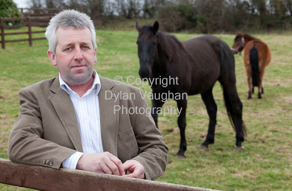 23/2/2009.Seamus Healy, Lower Conahy, Ballyragget, Co. Kilkenny pictured on his farm..Picture Dylan Vaughan