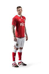 Bristol City's Aden Flint  - Photo mandatory by-line: Joe Meredith/JMP - Mobile: 07966 386802 09/07/2014 - SPORT - FOOTBALL - Bristol - Ashton Gate - Bristol City Kit Launch