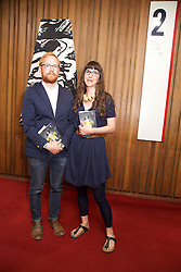 19/08/2015<br /> Pictured at the opening night of 'The Bog of Cats' by Marina Carr at The Abbey Theatre were Alan O'Riordan and Emilie Pine.