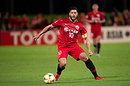 SYDNEY, AUSTRALIA - APRIL 10: Shanghai SIPG FC player Hulk (10) controls the ball at The AFC Champions League football game between Sydney FC and Shanghai SIPG FC on April 10, 2019, at Netstrata Jubilee Stadium in Sydney, Australia. (Photo by Speed Media/Icon Sportswire)