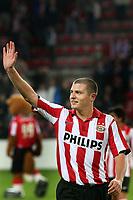 seizoen 2007 / 2008 ,  eindhoven 20-10-2007 psv - vvv 3-1 danny koevermans