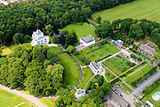 Nederland, Utrecht, Gemeente Wijk bij Duurstede, 26-06-2013; Kasteel Sandenburg (Sandenburgh, Zandenburg, Sandenborg en Zandenborg).<br /> Sandenburg castle.<br /> luchtfoto (toeslag op standaard tarieven);<br /> aerial photo (additional fee required);<br /> copyright foto/photo Siebe Swart.