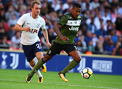 August 5, 2017 - London, England, United Kingdom - Alex Sandro of Juventus FC.during the Friendly match between Tottenham Hotspur and Juventus at Wembley stadium, London, England on 5 August 2017. (Credit Image: © Kieran Galvin/NurPhoto via ZUMA Press)