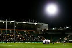 England U20 huddle before kick off - Rogan/JMP - 21/02/2020 - Franklin's Gardens - Northampton, England - England U20 v Ireland U20 - Under 20 Six Nations.