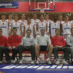 20051007: SLO, Basketball - Practice session of KK Slovan before new season 2005/06