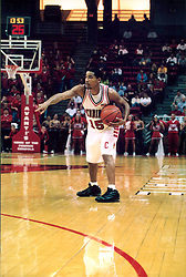 November 16, 2001:  Illinois State Redbirds basketball player Randy Rice...This image was scanned from a print.  Image quality may vary.  Dust and other unwanted artifacts may exist.